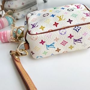 Louis Vuitton Accessories - Louis Vuitton Wapiti Trousse Multicolor Wristlet